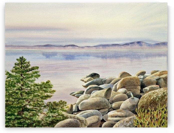 Lake Tahoe California by Irina Sztukowski