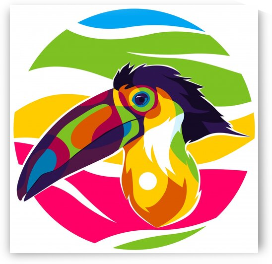 The Hornbill Big Beak by wpaprint