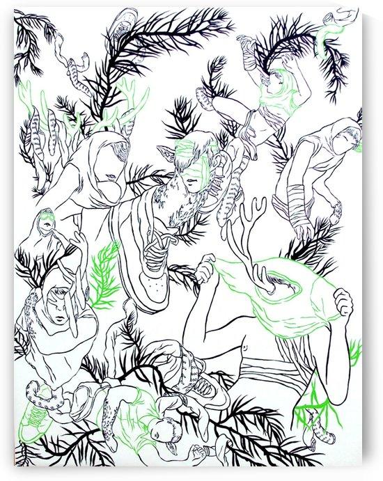 Pieceofmyartgreen by Roberto Amoroso