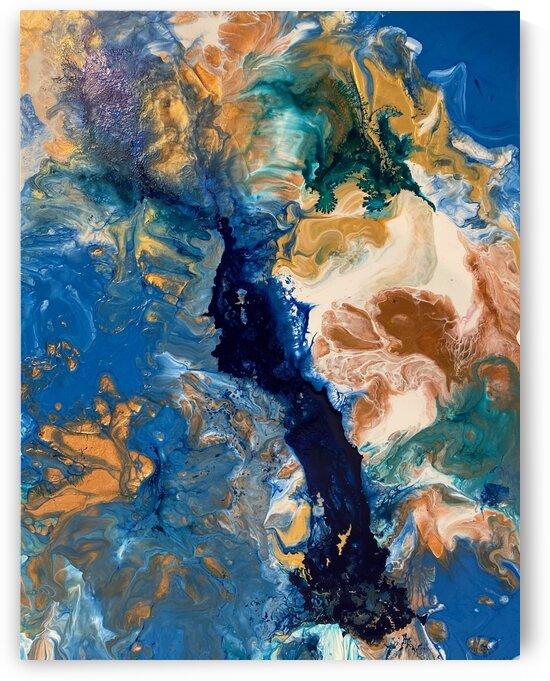 Blue lagoon by Jenny Chandler Art