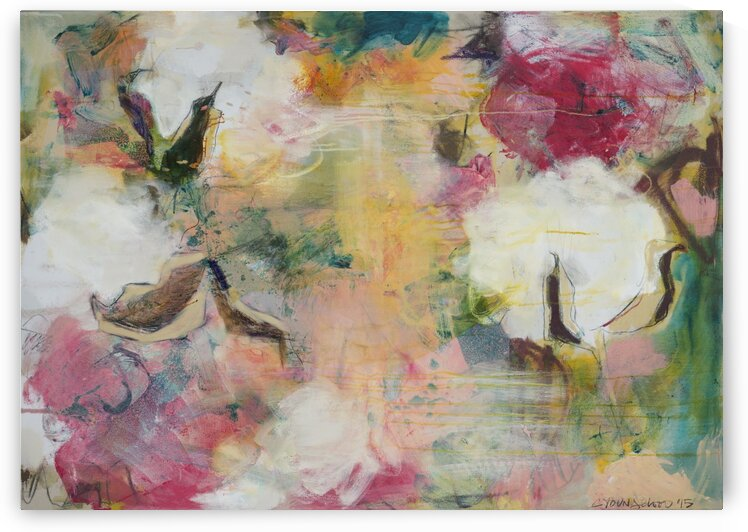 August Indian Cotton by Caroline Youngblood