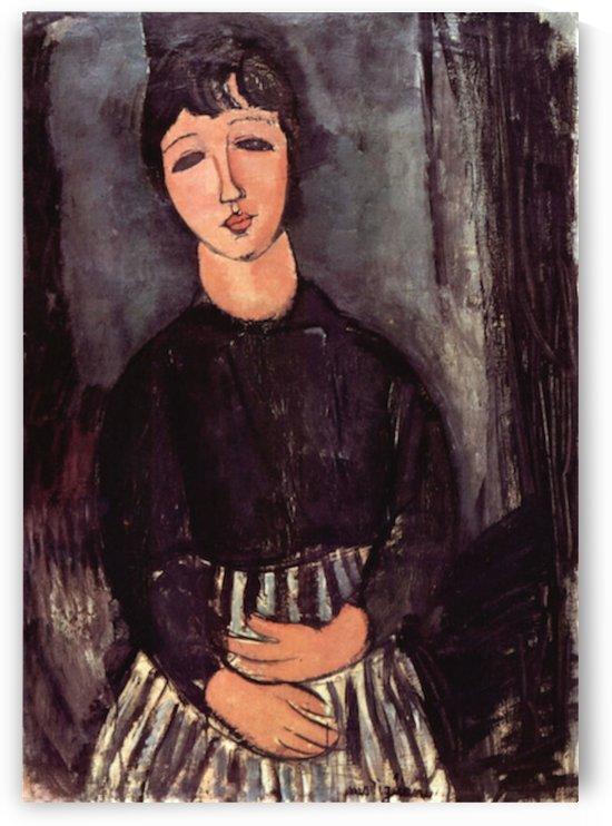 Modigliani - Portrait of Abigail by Modigliani