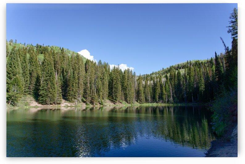 Oowah Lake in the La Sal Mountains by RDCushing
