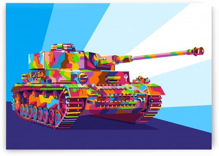 Panzerkmpf. IV ausf. J by wpaprint