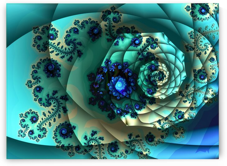 Fractal Flower  by Deometry