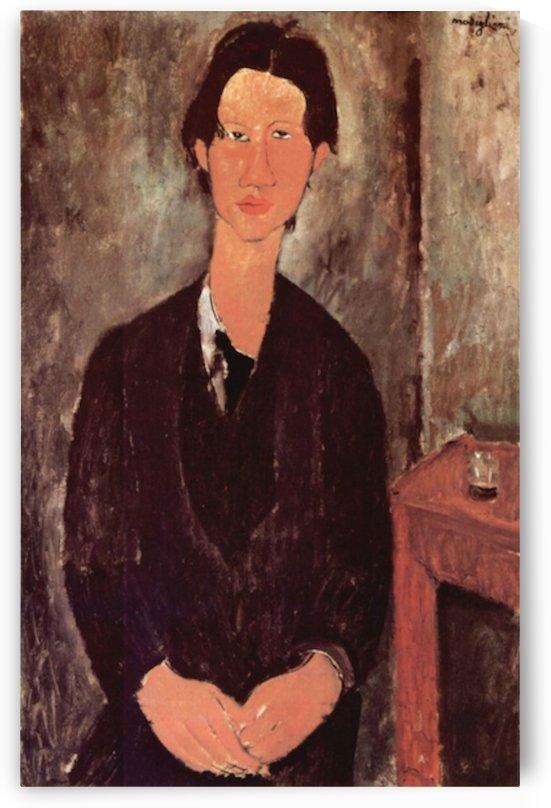 Modigliani - Portrait of Chaiim Soutine by Modigliani