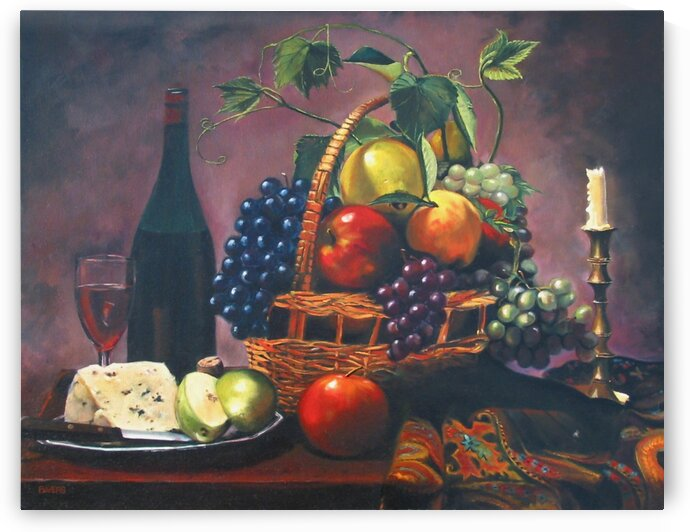 Wine and Fruit by Rick Bayers
