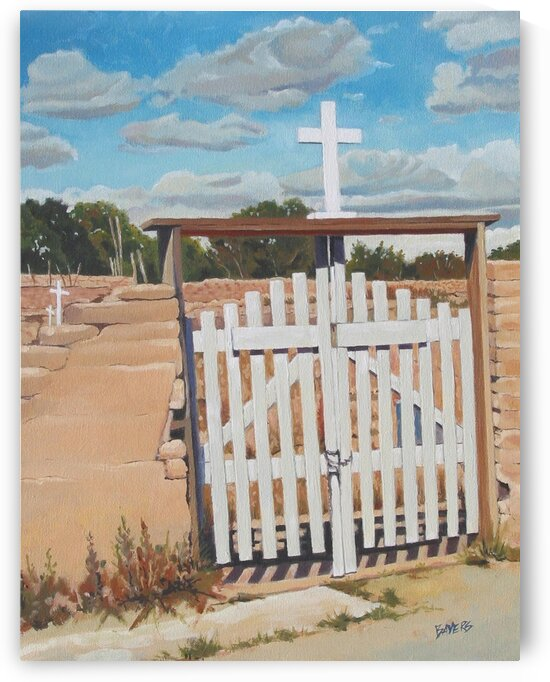 White Gate by Rick Bayers
