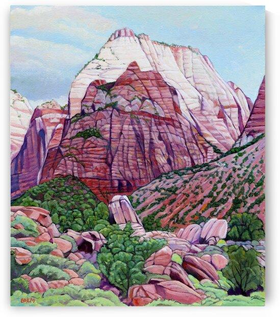 Utah Mountain by Rick Bayers