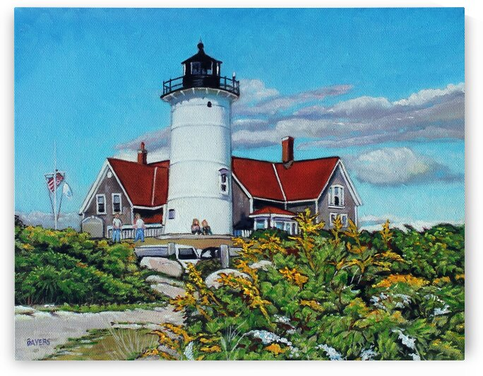 Nobska Point Lighthouse by Rick Bayers