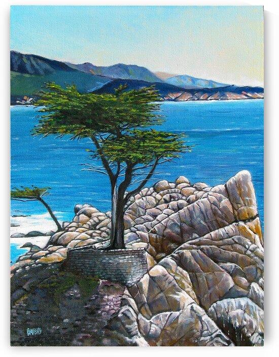 Lone Tree at Pebble Beach by Rick Bayers