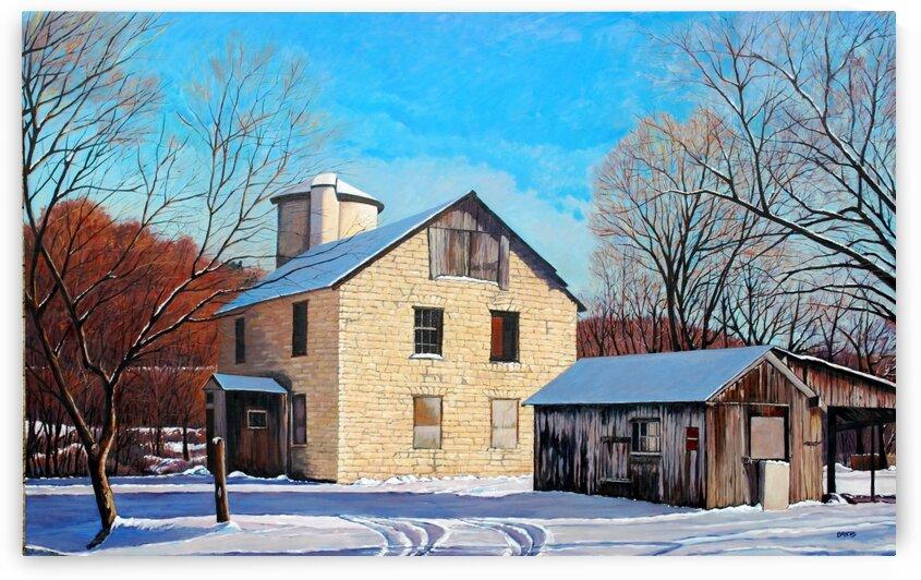 Yellow Barn by Rick Bayers