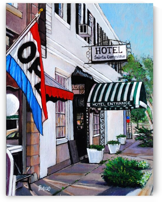 Sainte Genevieve Hotel by Rick Bayers