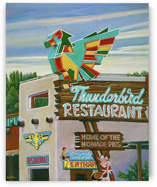 Thunderbird Restaurant Zion Utah by Rick Bayers
