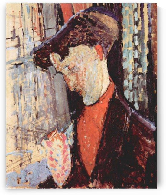 Modigliani - Portrait of Frank Burty Haviland by Modigliani