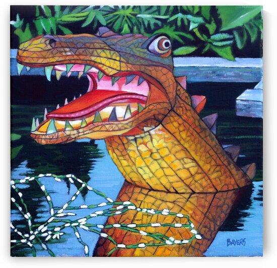 Alligator by Rick Bayers