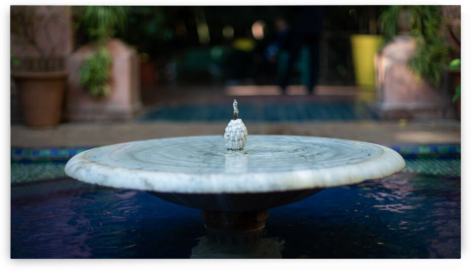 Fontaine 01 Marrakech 2018 - Fountain 01 Marrakech 2018 by Marion Xenia VALERS