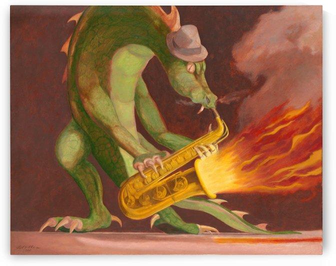 Hot Sax by Leonard Filgate