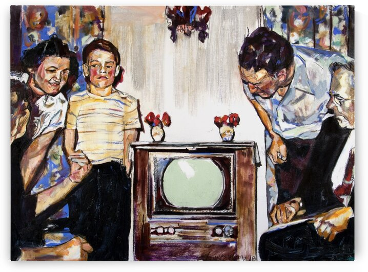 Louisiana First TV 1953 by Caroline Youngblood
