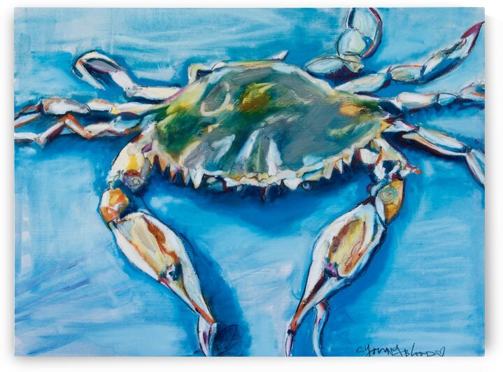 Louisiana He Soft Shell Crab by Caroline Youngblood