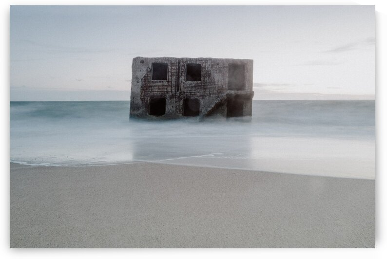 Fort in the sea by Olivier De Rycke