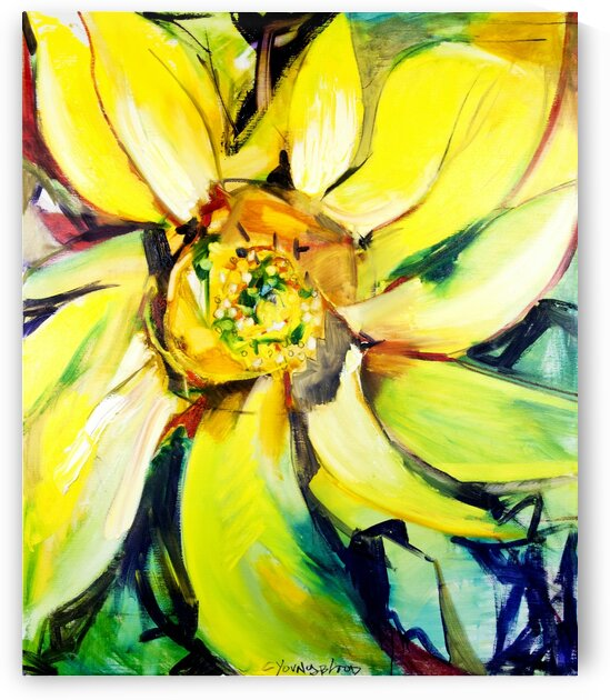 Bosco Louisiana Sunflower Bright by Caroline Youngblood
