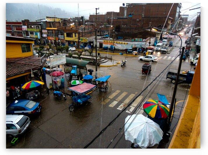Rain in Huaraz by Dan Edel