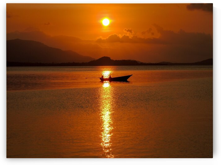Samui Sunset by Dan Edel