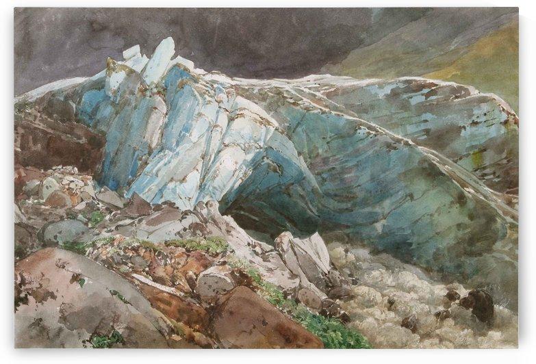 Rocks by Thomas Ender