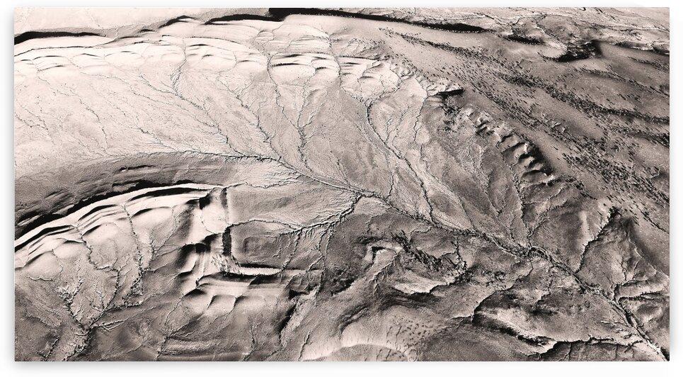 Aerial Detail - Wilpena Pound by Lexa Harpell