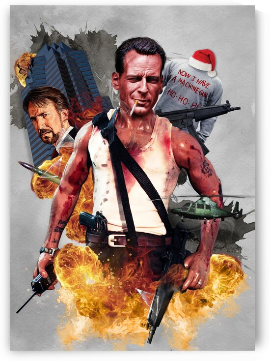 John McClane  by Belchior Canizo