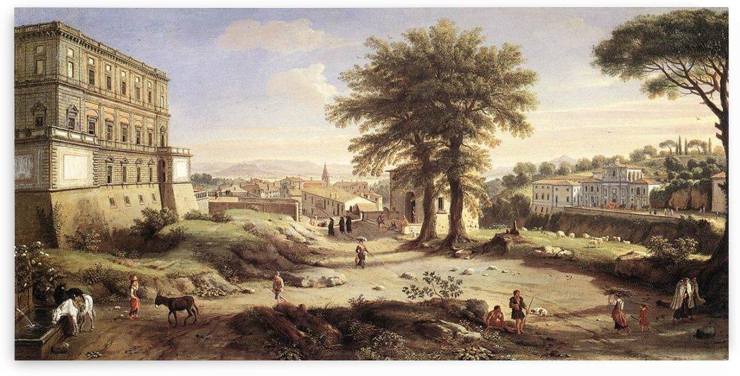 Frascati by Caspar van Wittel