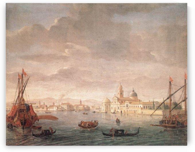 The Island of San Michele by Caspar van Wittel