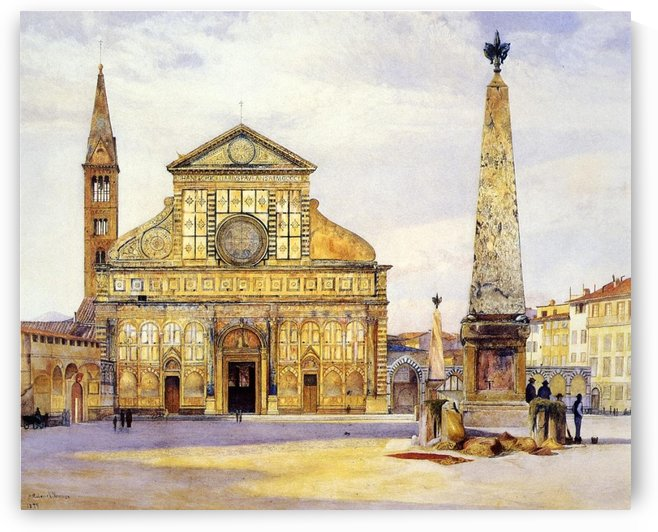 The main square by August von Siegen