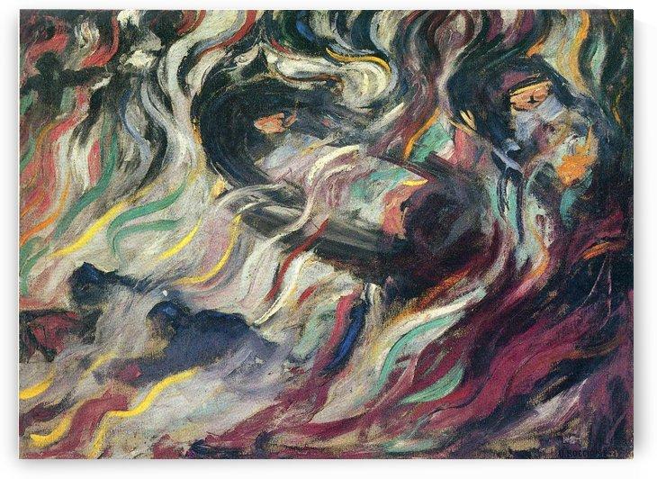 The Farewells by Umberto Boccioni