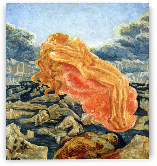 The dream by Umberto Boccioni