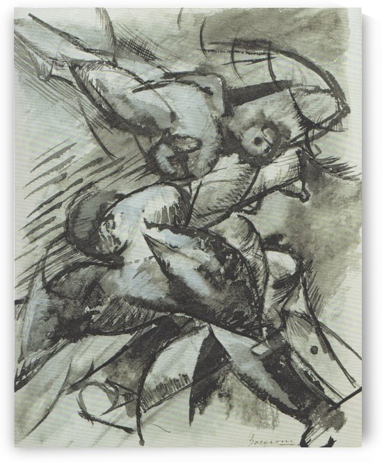 I Want to Fix Human Forms in Movement by Umberto Boccioni