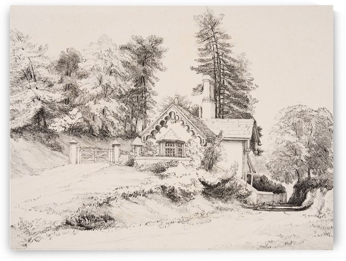 Bury Hill House by James Duffield Harding