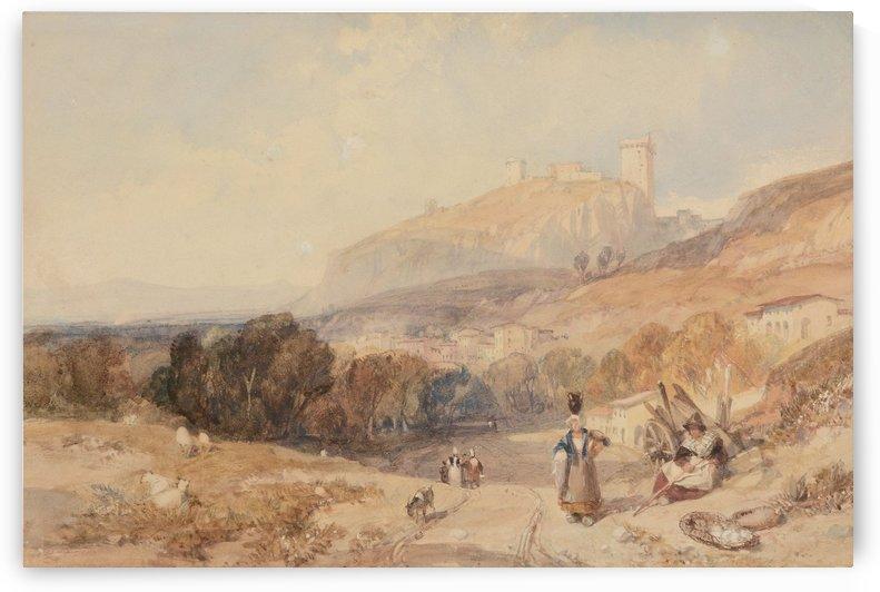 Chateau De Monas by James Duffield Harding