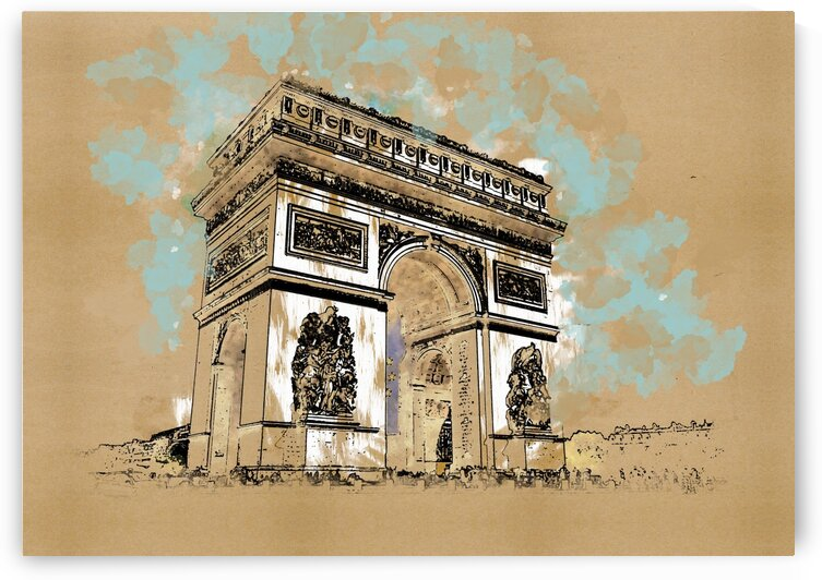 Arc De Triomphe  by Angel