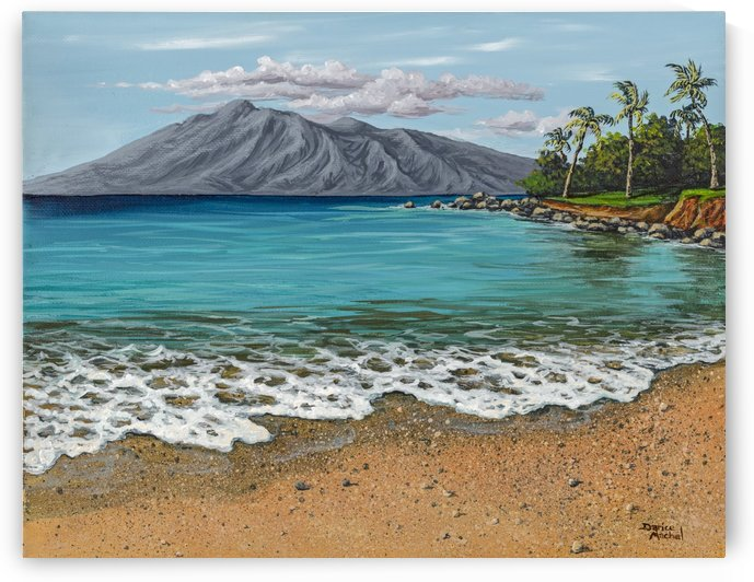 Sandy Beach by Darice Machel McGuire