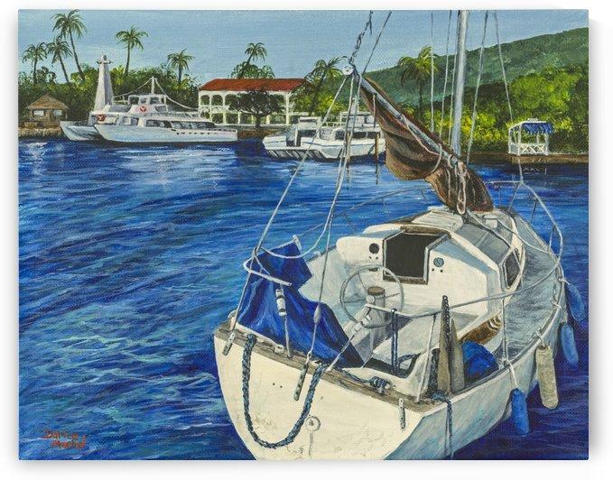 Lahaina Yacht by Darice Machel McGuire