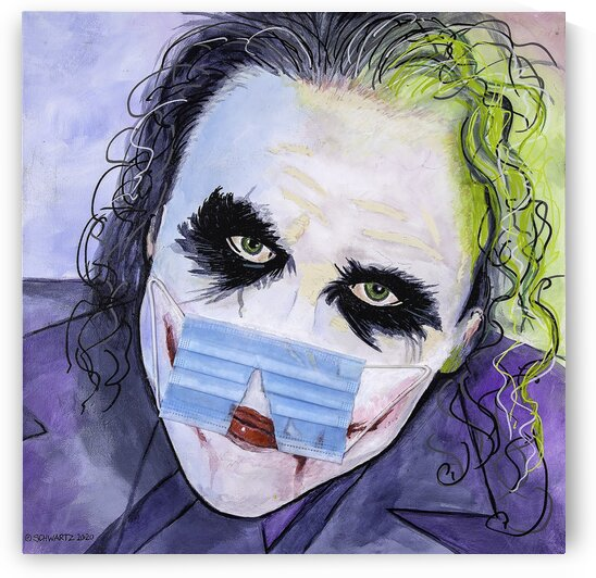 THE JOKER 19 by Sam Schwartz
