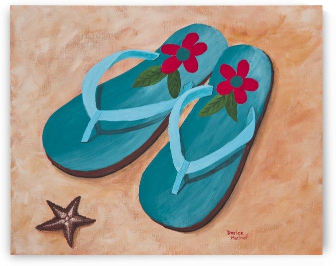 Flip Flops by Darice Machel McGuire
