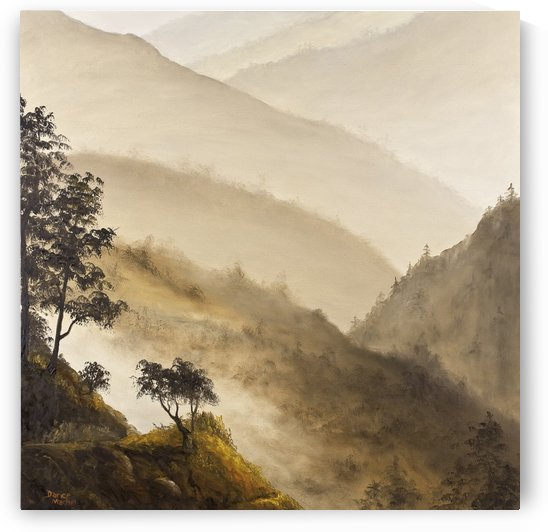 Misty Hills by Darice Machel McGuire