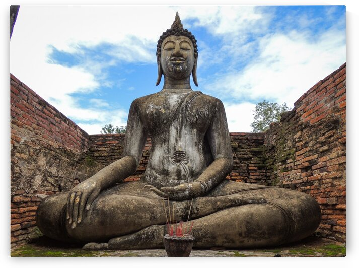 Buddha in the Clouds by Dan Edel