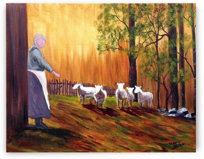shepherdess2_1448327049.5691 by Tami Booher Appalachian Nature Painter