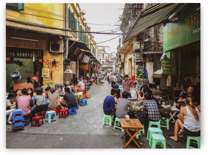 Old Quarter Hanoi by Dan Edel