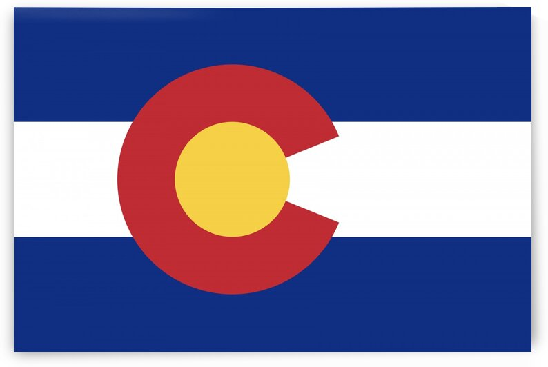 Colorado State Flag by Fun With Flags