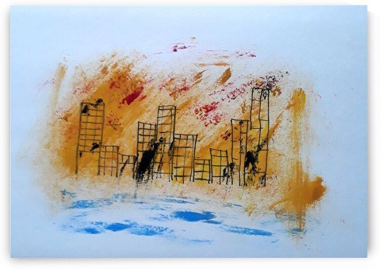Stadt by Irene Ragoss